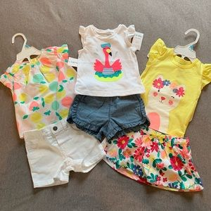 Carter's outfits 💕 6 months